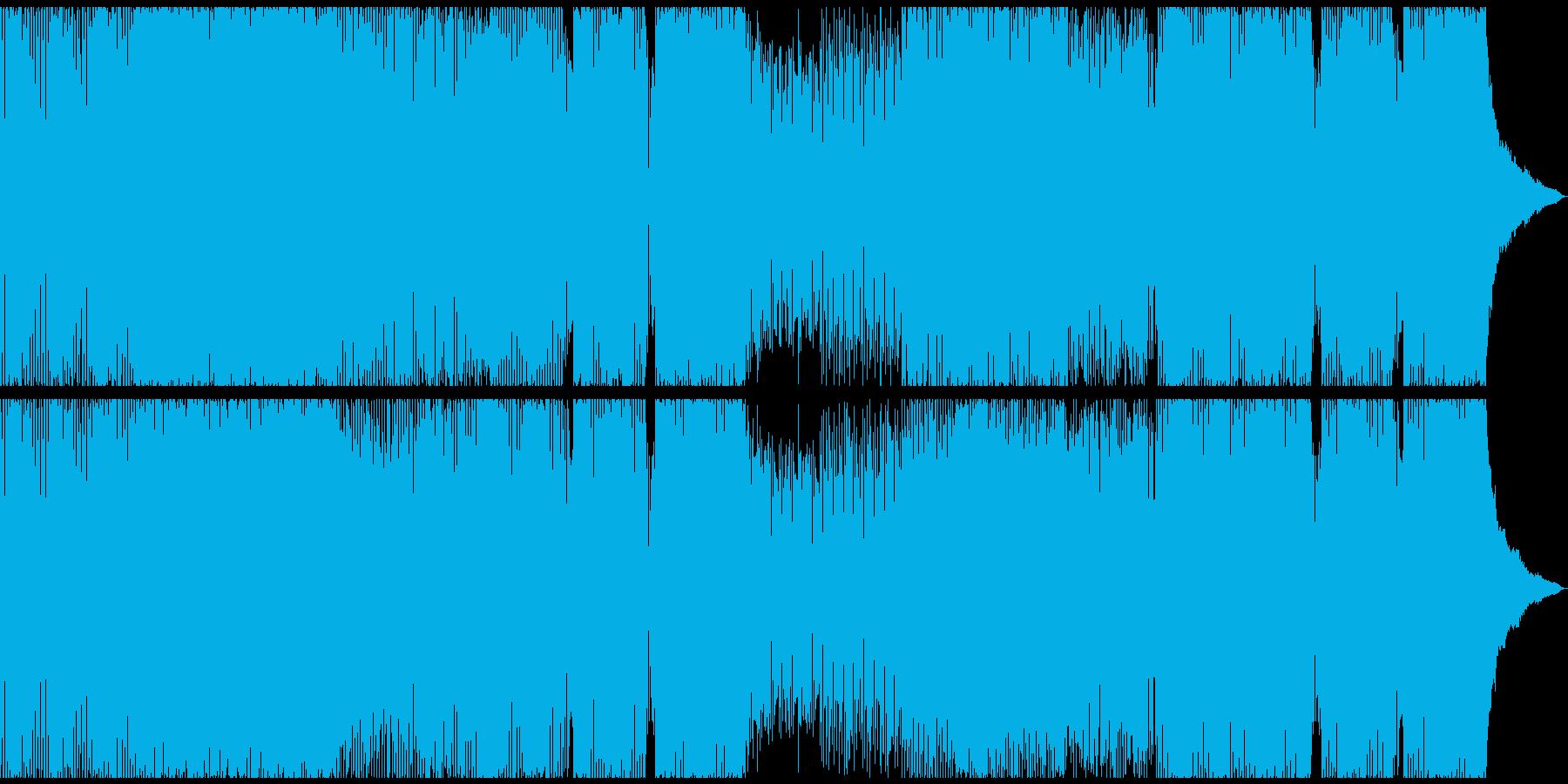 ハウス ダンス プログレッシブ デ...の再生済みの波形