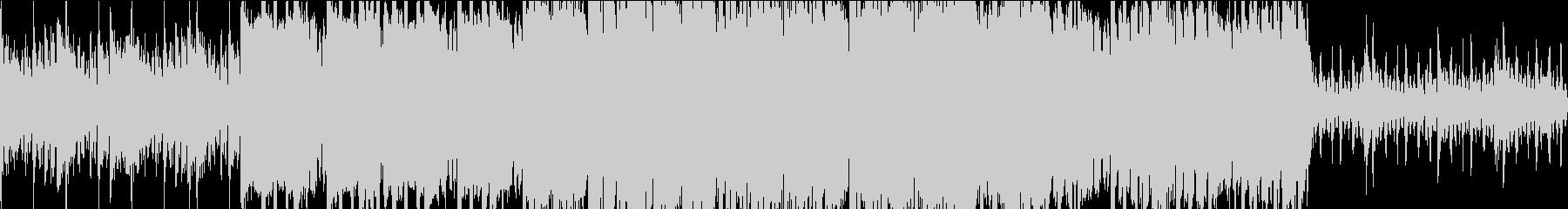 ロックなシネマティック ループの未再生の波形