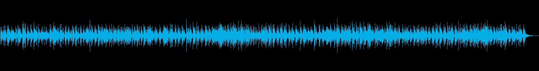 お洒落なボサノバBGMの再生済みの波形