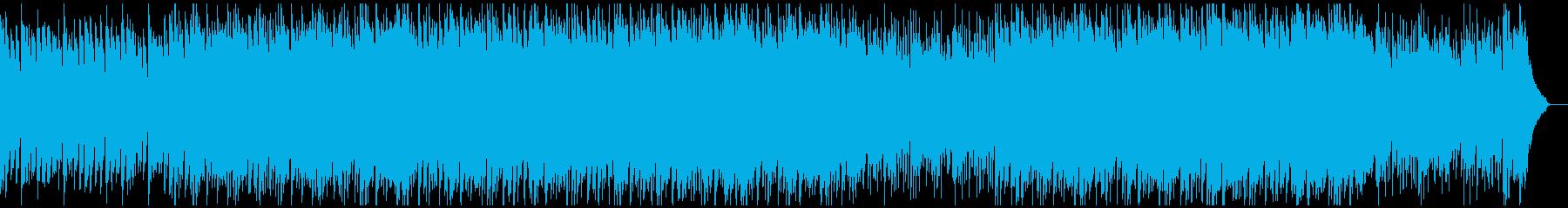 爽やかで弾むようなBGMの再生済みの波形