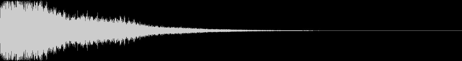 刀 剣 ソード カキーン キュイーン24の未再生の波形