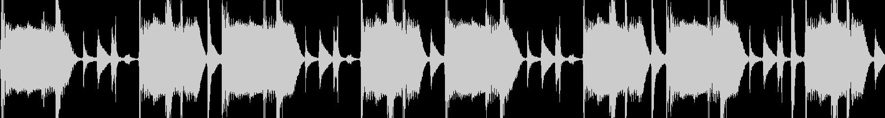 サンバ楽器のブレイクビーツLoop素材の未再生の波形
