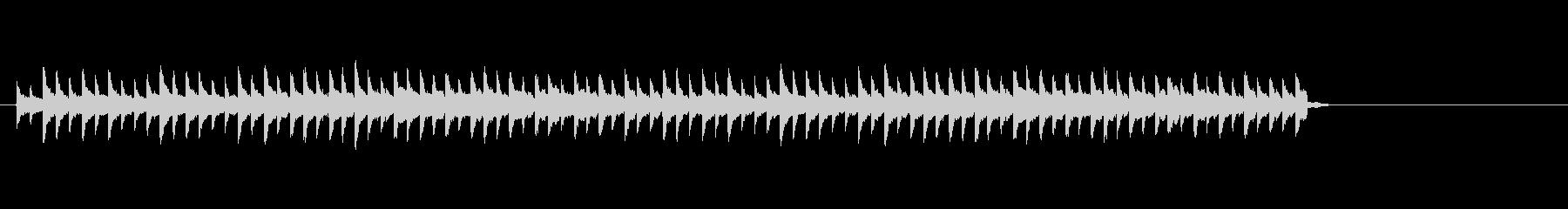 ベル、踏切鉄道信号信号ベルの未再生の波形