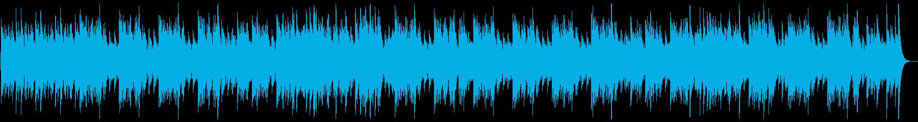 華やかで明るいオルゴールの再生済みの波形