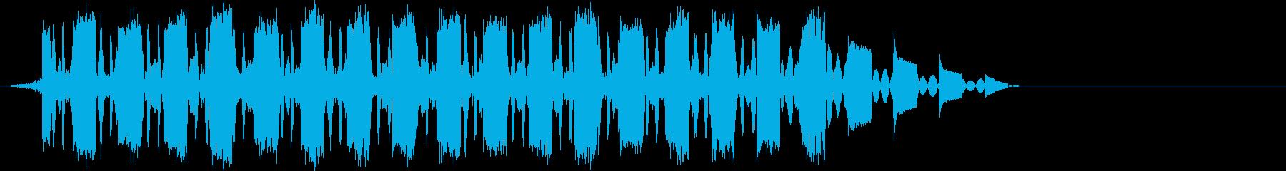 AMGアナログFX 37の再生済みの波形