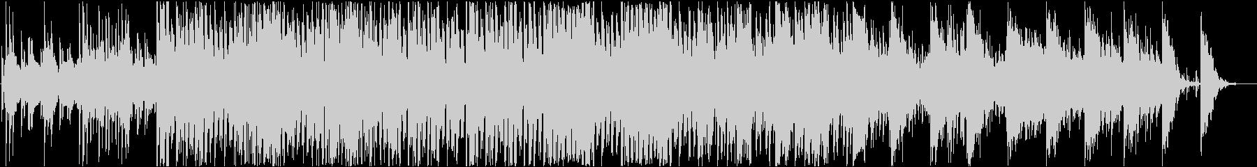 メロウなEDMの未再生の波形