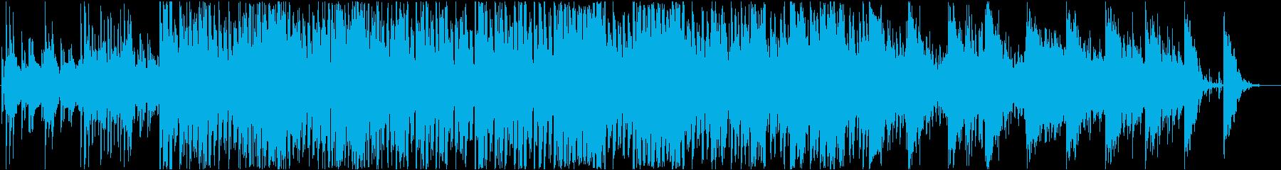 メロウなEDMの再生済みの波形