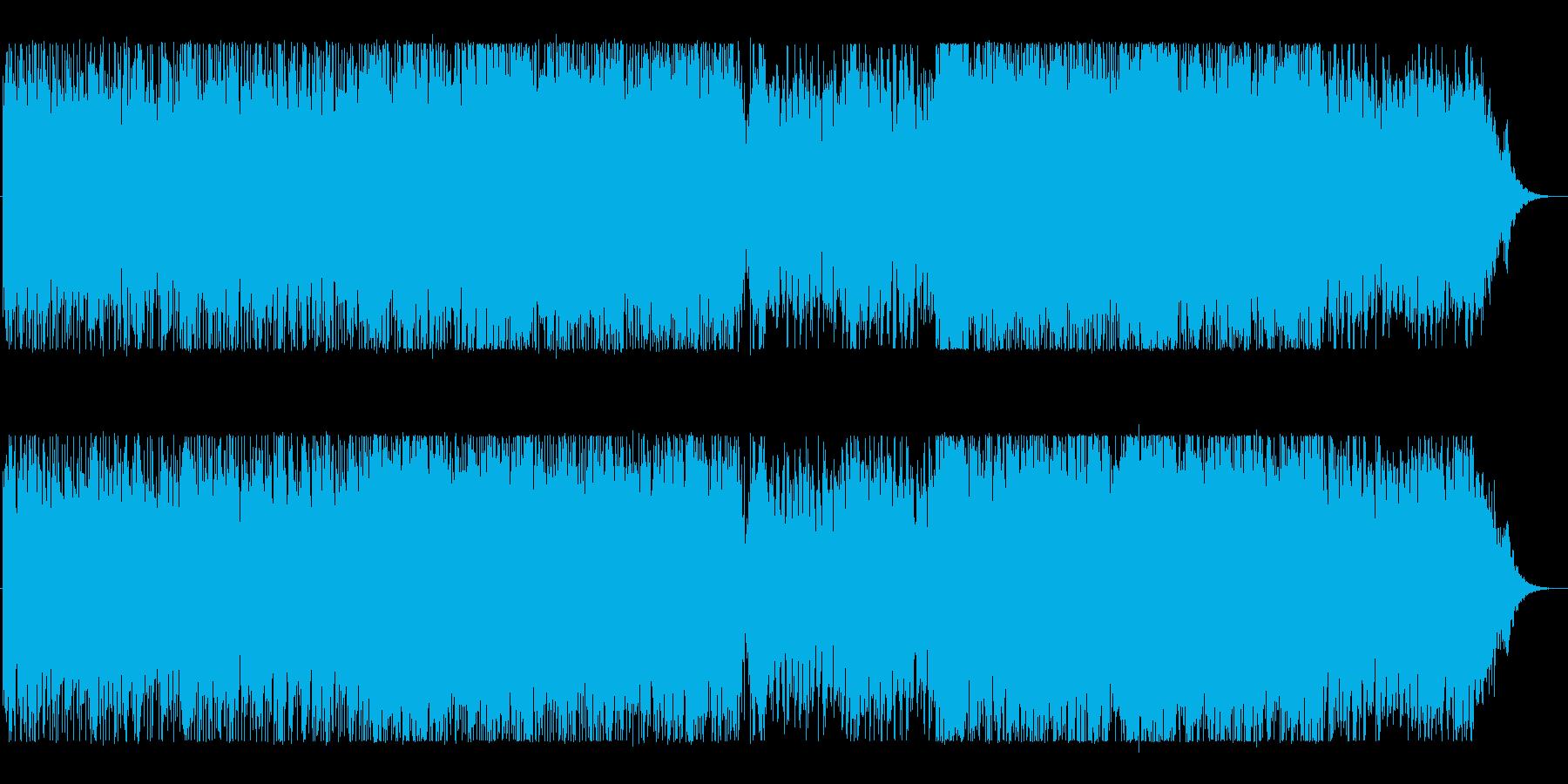 近未来にピッタリ・SynthWeveの再生済みの波形