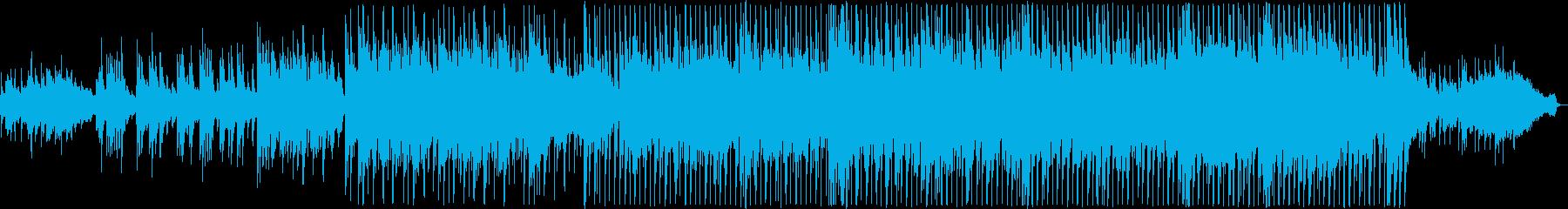 感動的な雰囲気に満たされたバラード4の再生済みの波形