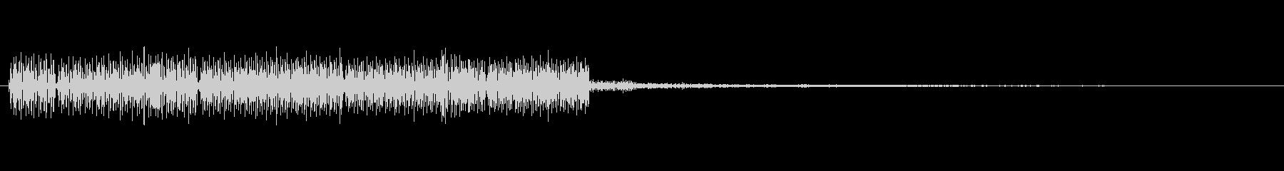 RPG等の魔法の攻撃音風の音の未再生の波形