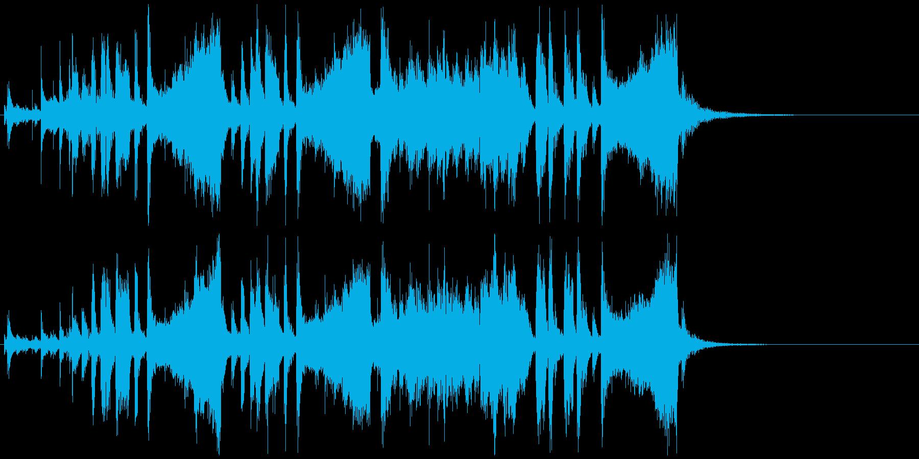 ビッグバンドサウンドOpening向けの再生済みの波形