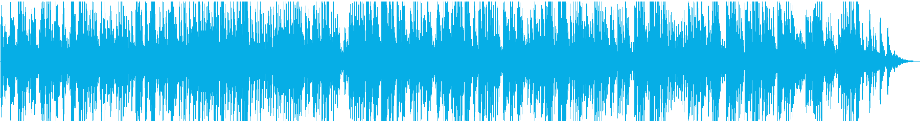 チルアウトな 優しいジャズ風ピアノソロの再生済みの波形