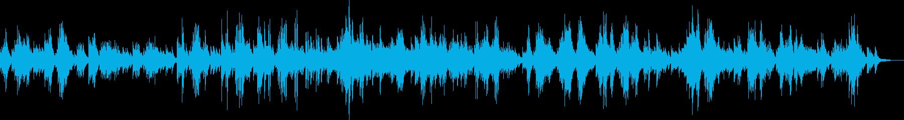 日々の小さな幸せを謳歌したピアノバラードの再生済みの波形