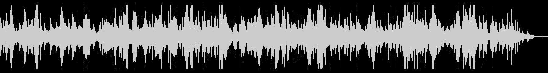 ギター&ピアノ ゆったりラウンジBGMの未再生の波形