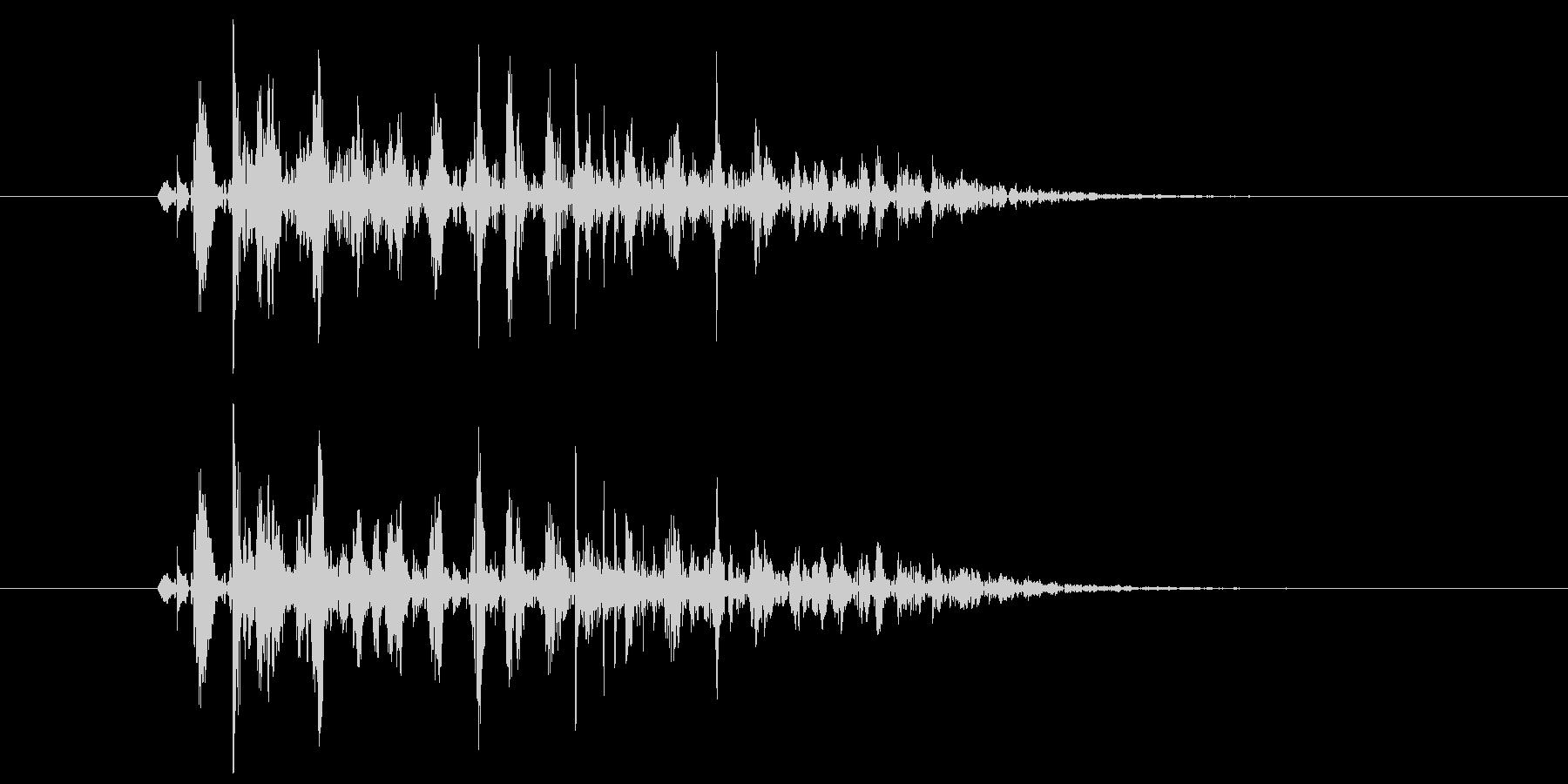ブクブク(泡のような音) A01の未再生の波形