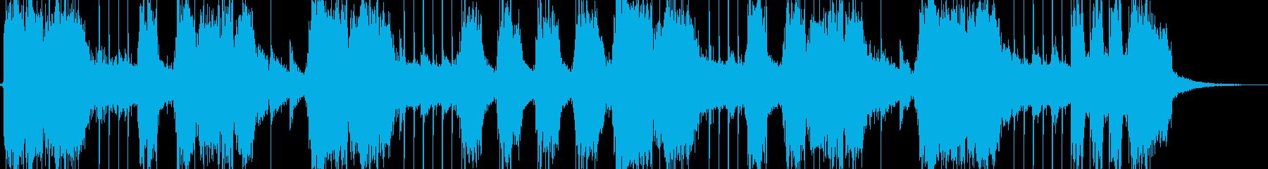 ブラスロックのんの再生済みの波形
