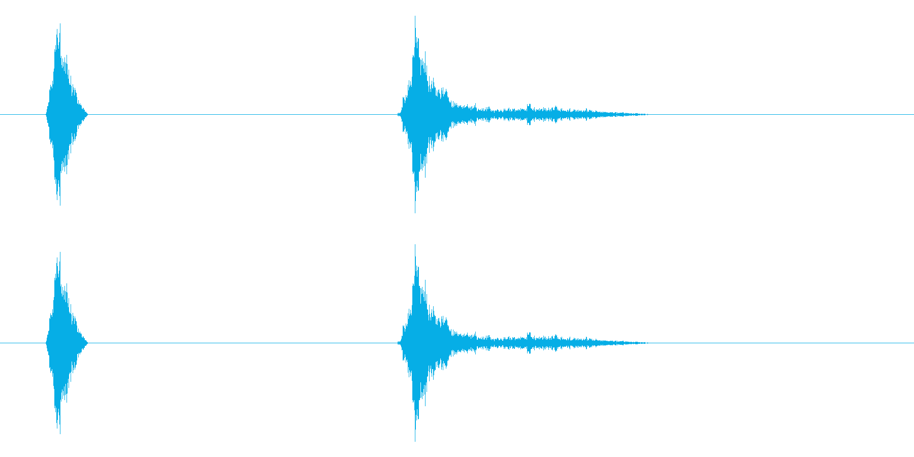 リップ2の再生済みの波形