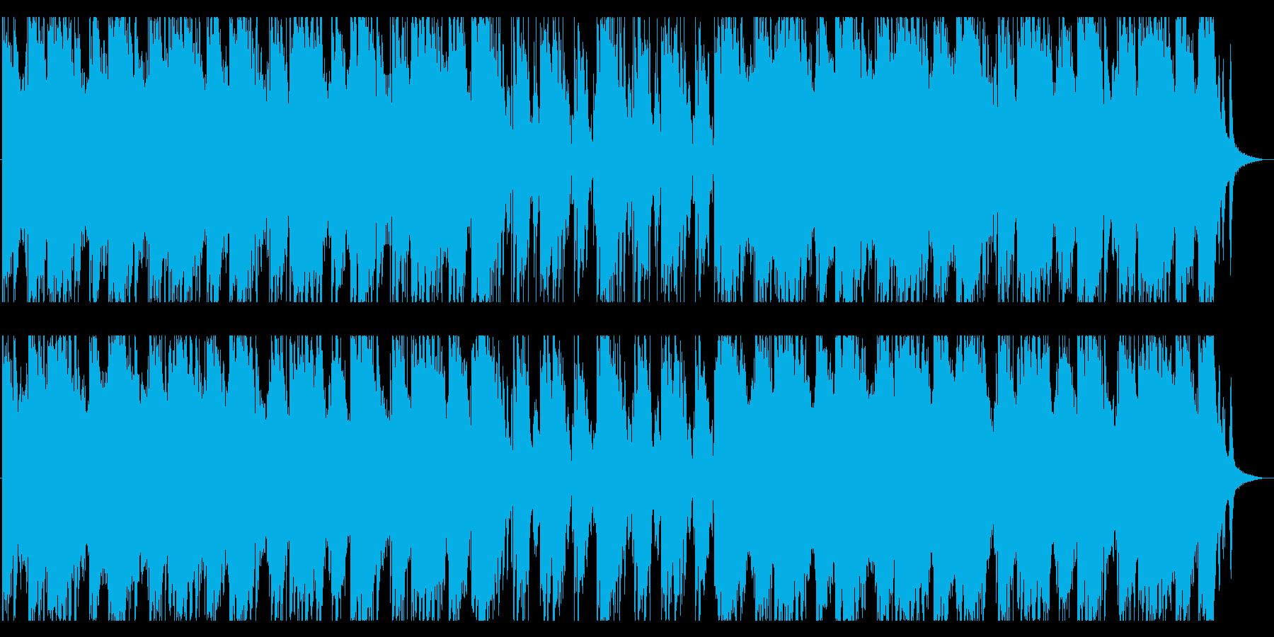 抗えない力に立ち向かうBGMの再生済みの波形