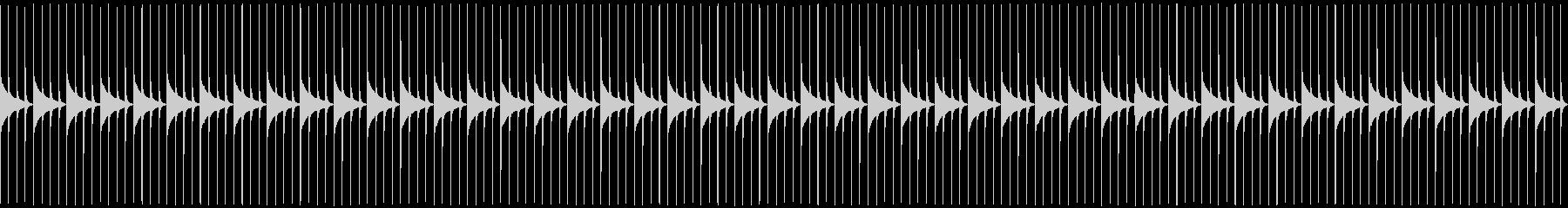 木製振り子メトロノーム05-BPM184の未再生の波形