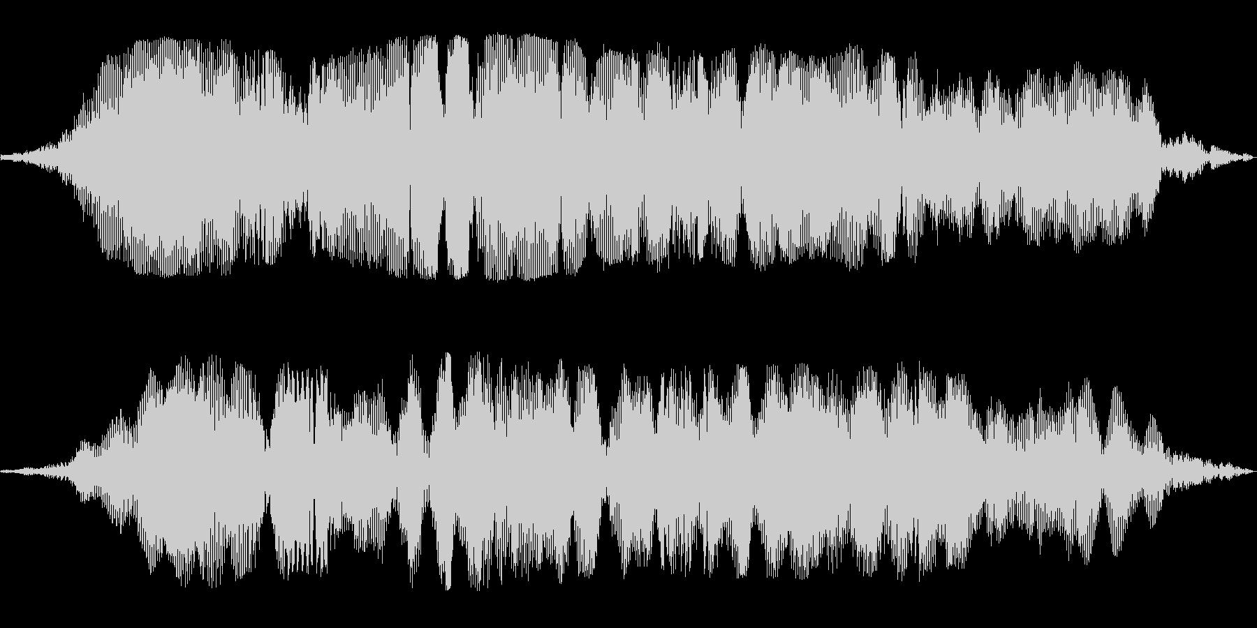 壮大なイメージの巨大惑星の効果音の未再生の波形