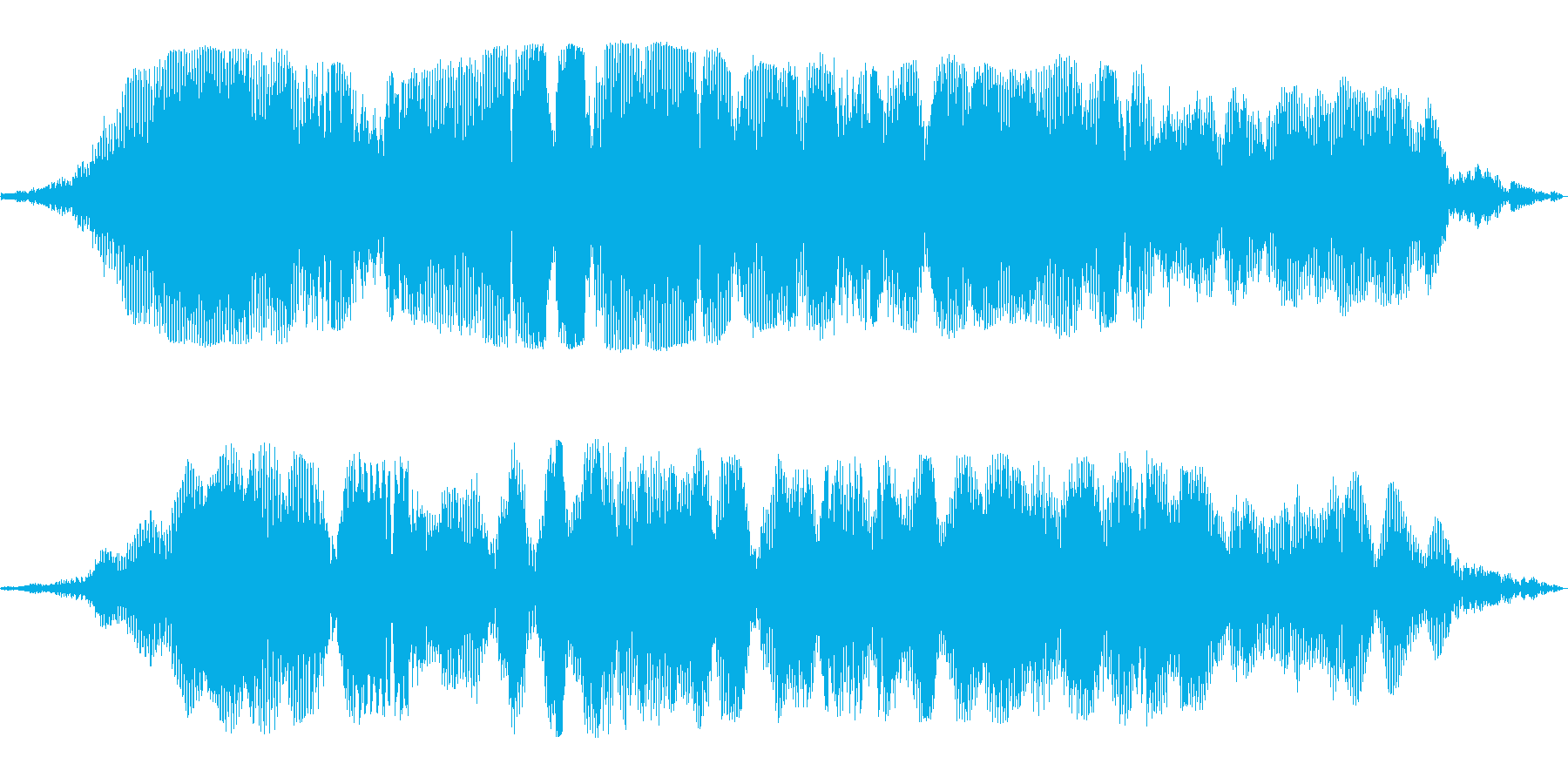 壮大なイメージの巨大惑星の効果音の再生済みの波形