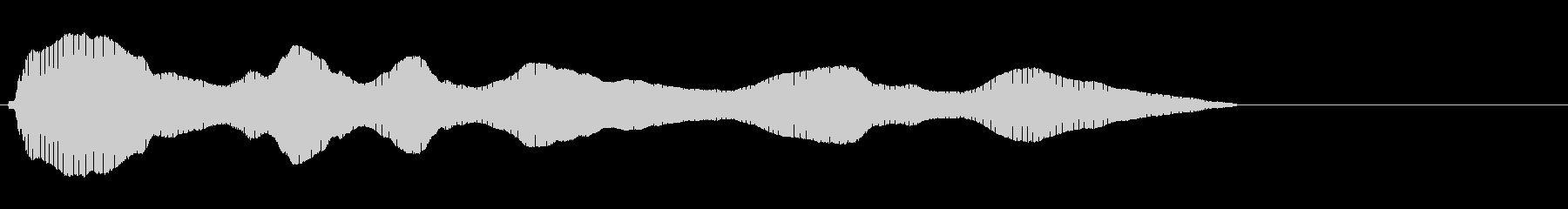 トロンボーン:ビッグウォブル、漫画...の未再生の波形