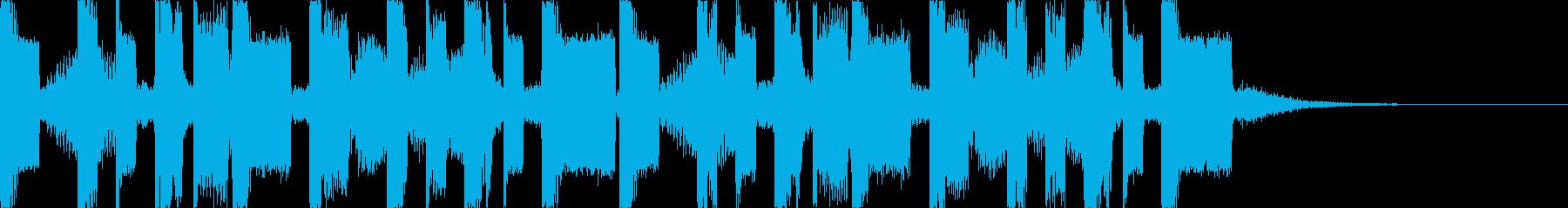 キャッチーでダークなEDM5の再生済みの波形