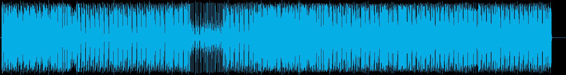 ダンスホールのレゲエは、レゲトンフ...の再生済みの波形