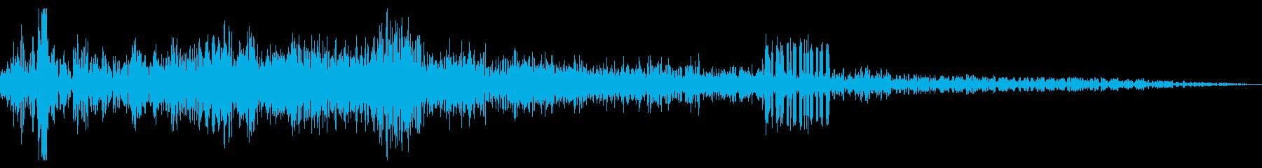 電気ウナギ、ドローンヒットザップ電...の再生済みの波形