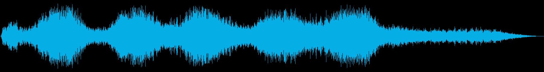 宇宙レーザーカッター:ショートスピ...の再生済みの波形
