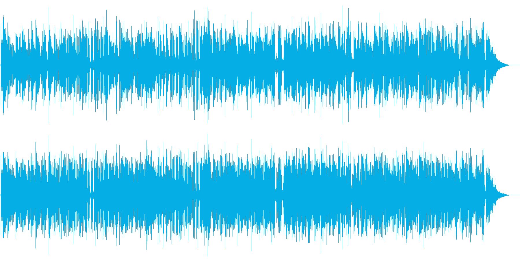 交響曲第40番第1楽章Jazzの再生済みの波形