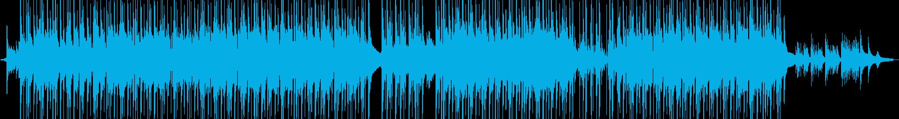 R&B:遠距離恋愛・お洒落ピアノ ★の再生済みの波形