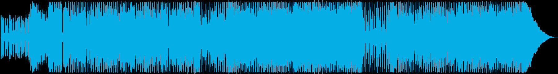 ブルース ポジティブ 明るい 心に...の再生済みの波形