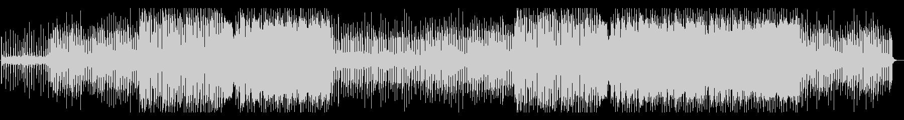 洋楽 フューチャーポップ 温かい EDの未再生の波形