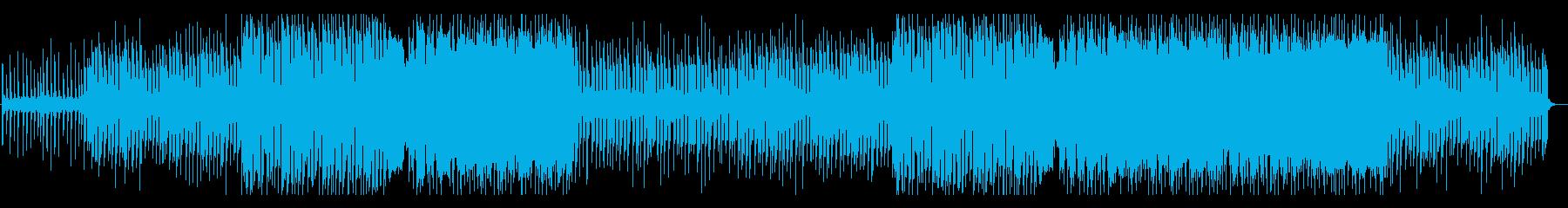 洋楽 フューチャーポップ 温かい EDの再生済みの波形