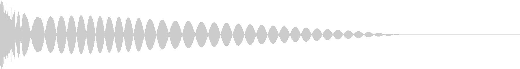 DTM Kick 13 オリジナル音源の未再生の波形