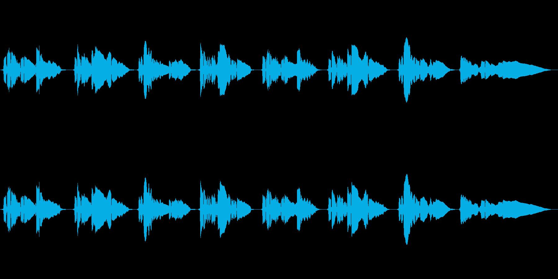 悲しいメロディーのサックスの曲です。の再生済みの波形