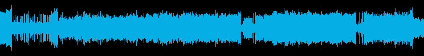 翔け!躍動感のあるアップテンポの明るい曲の再生済みの波形