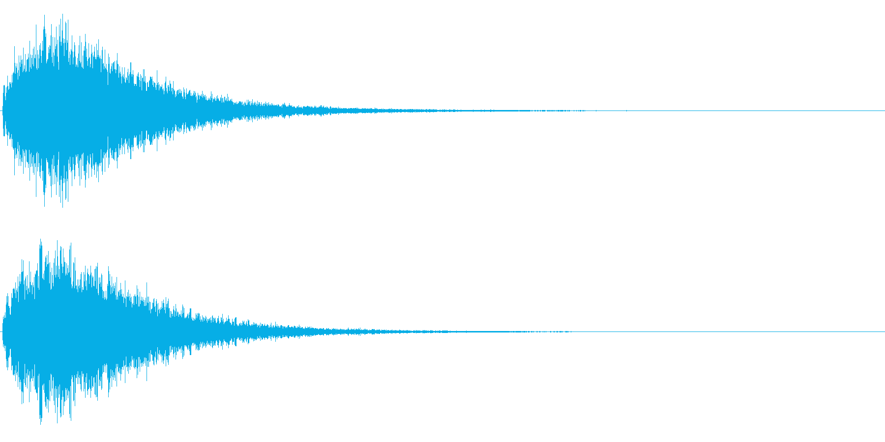 ゲームスタート、決定、ボタン音-133の再生済みの波形