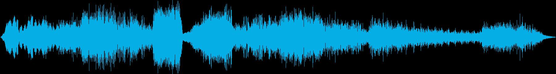 ヘビーハイテクテレメトリの電源ボタ...の再生済みの波形