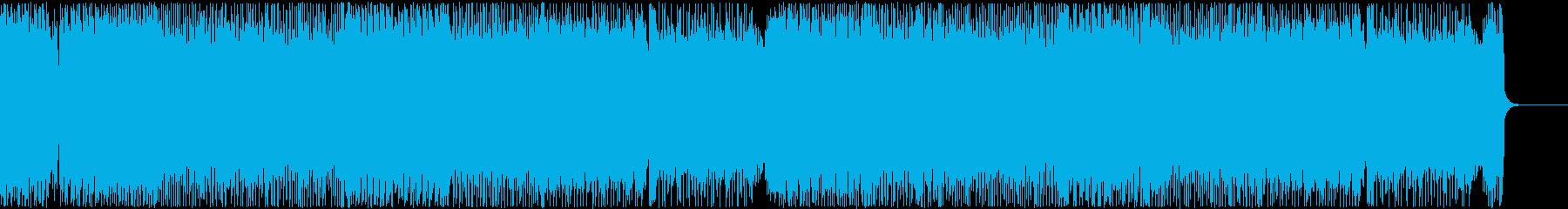爆走ロック・メタル系BGM No.3の再生済みの波形