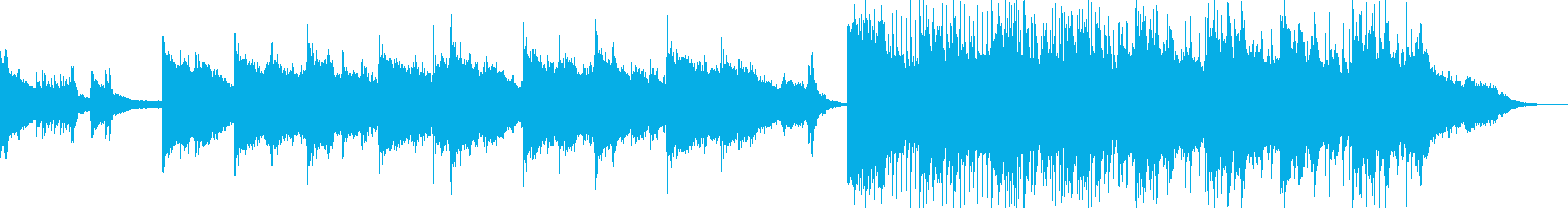 Japanese mythological and mysterious Japanese-style song's reproduced waveform