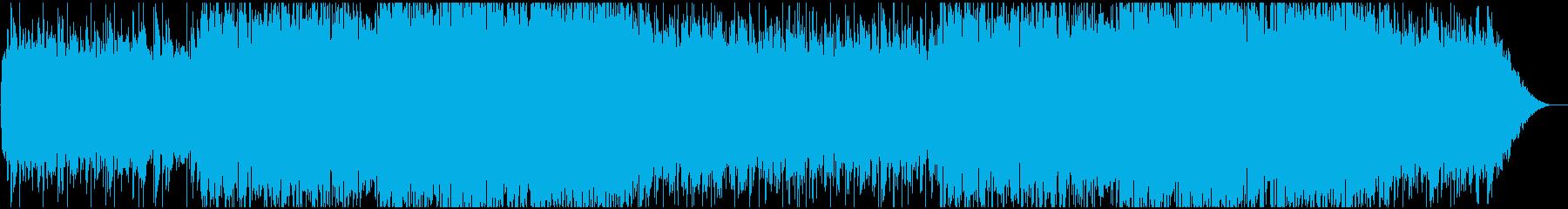 センチメンタルで少し切なげなBGMの再生済みの波形