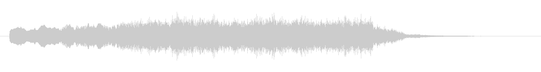 壮大なシンセサイザーコーラスのSE04の未再生の波形
