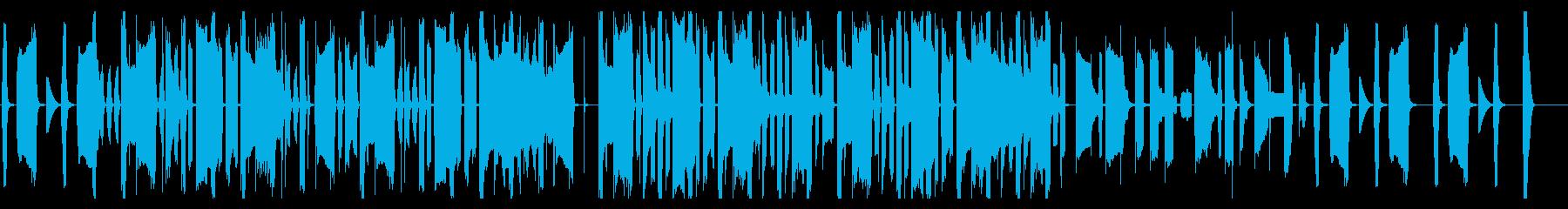 のんきでだらけた感じのほのぼの感 SHの再生済みの波形