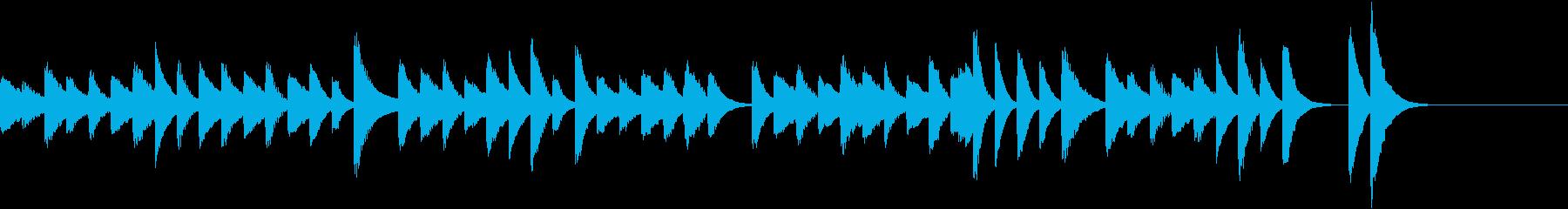 お料理動画にぴったり!軽快ピアノジングルの再生済みの波形