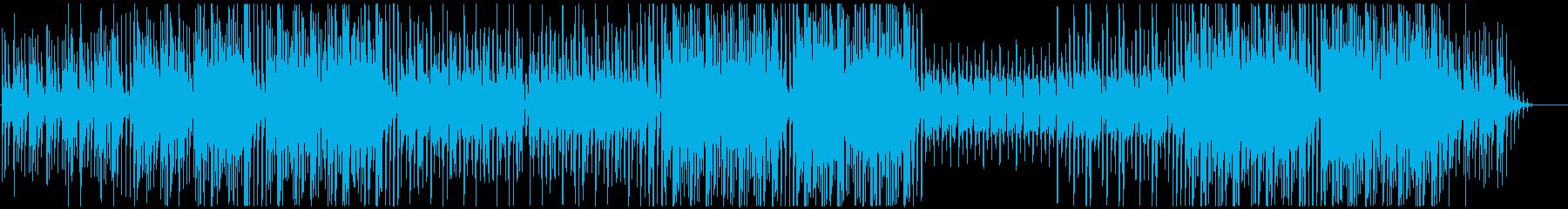 うるさくないクールなダンスミュージックの再生済みの波形