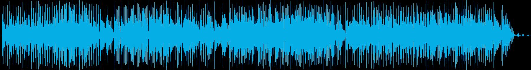 和やかで前向きなBGMを作りました。の再生済みの波形