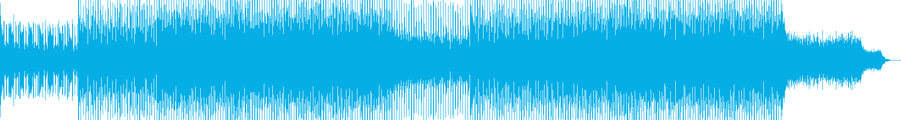 EDM club dance music-18's reproduced waveform