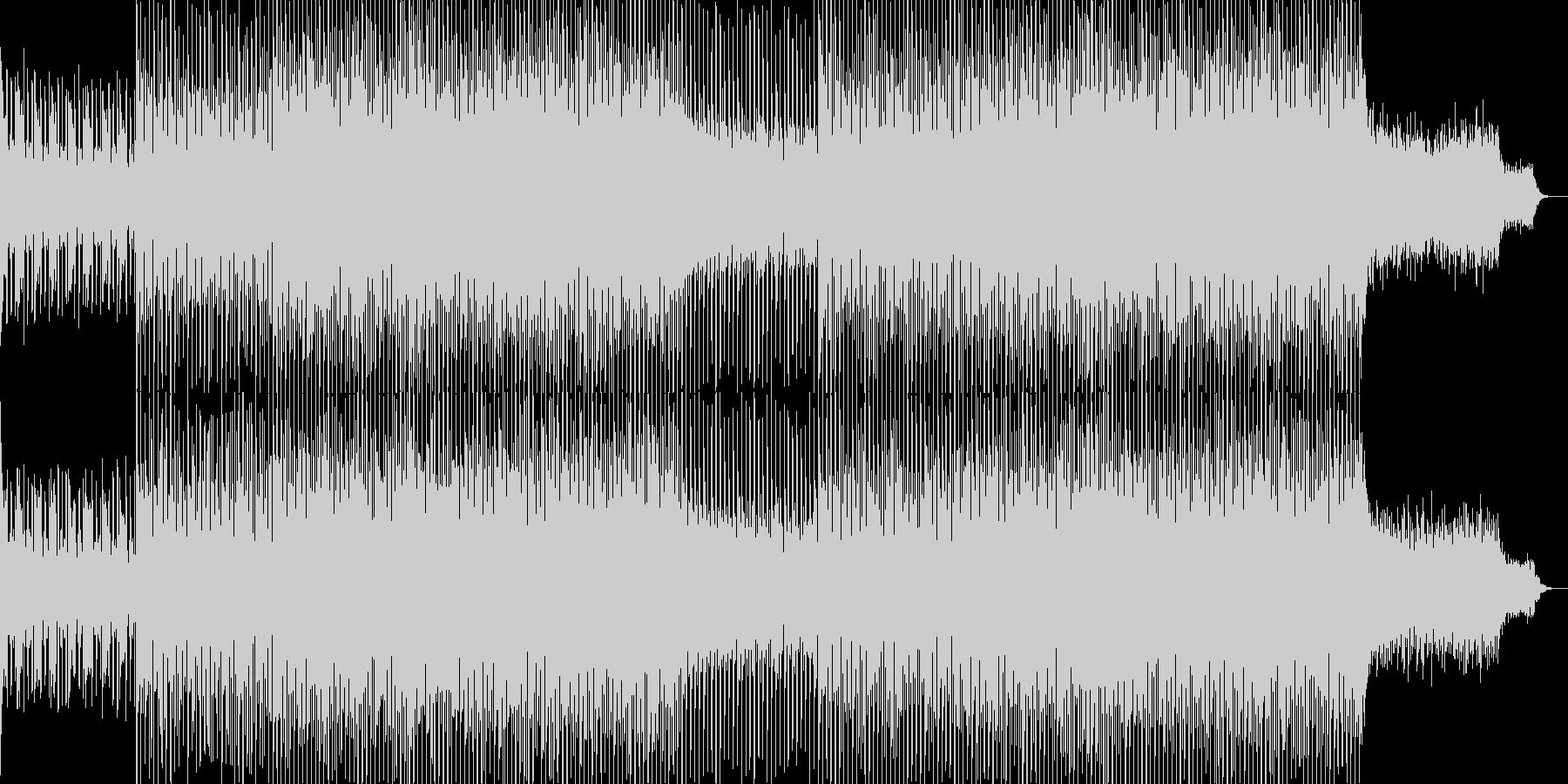 EDMクラブ系ダンスミュージック-18の未再生の波形